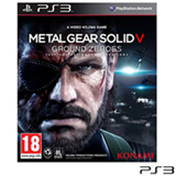 Jogo Metal Gear Solid V: Ground Zeroes para PS3
