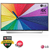 "Smart TV 4K LG Curva LED 3D 65"" com webOS 2.0, Controle Smart Magic, 04 Óculos 3D Inclusos e Wi-Fi - 65UG8700"