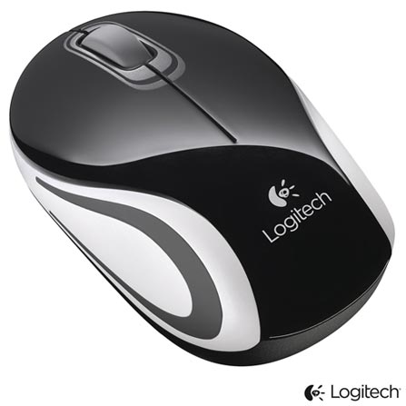 Imagem para Mini Mouse Wireless Logitech M187 Preto - 910003253 a partir de Fast Shop